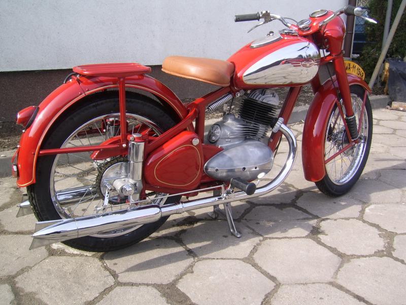 vintage jawa motorcycles 1948 to 1959